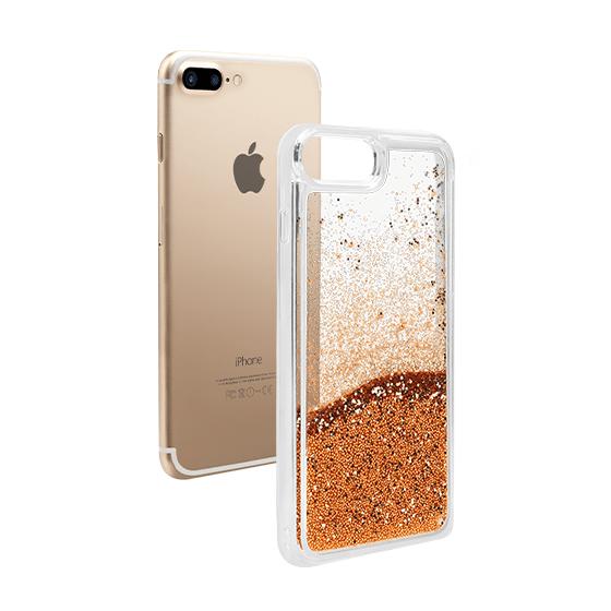 glitter iphone 7 case gold