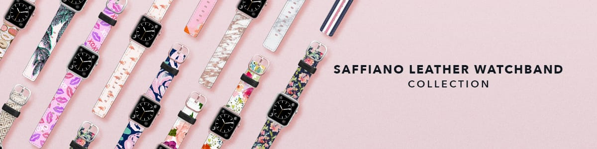 1609e92e9 Saffiano Leather Watch Band Collection - Casetify