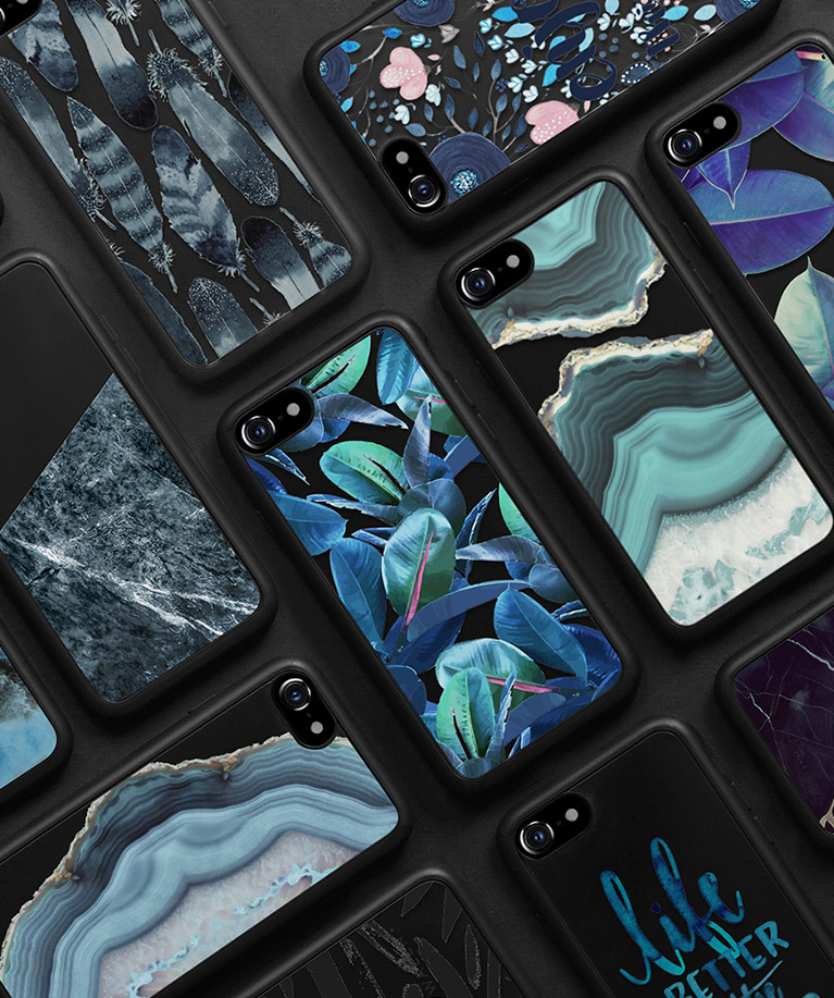 new concept b0ffe 52b00 Jet Black iPhone 7 Collection - Casetify