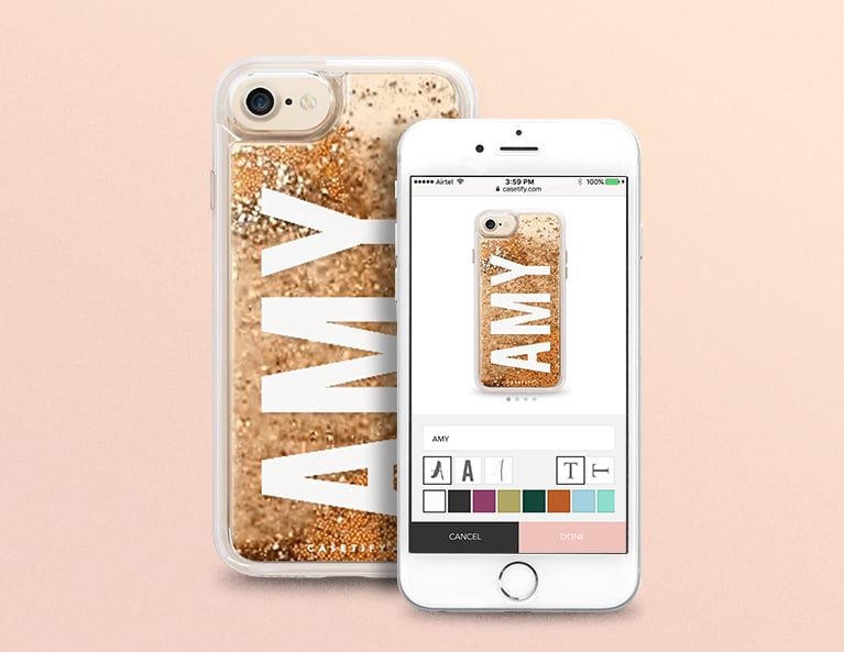 Say My Name Initial Phone Case
