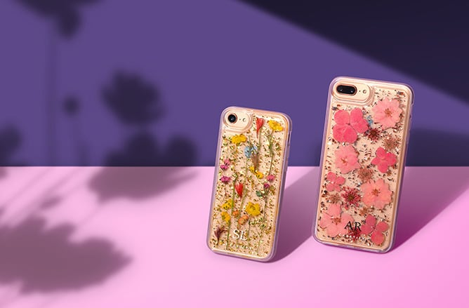 Luxe Pressed Flower iPhone 6s Cases