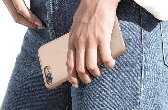 iPhone 8 Leather Snap Case