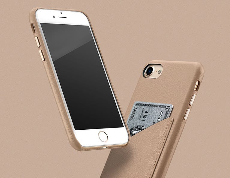 iPhone 8 Leather Card Case