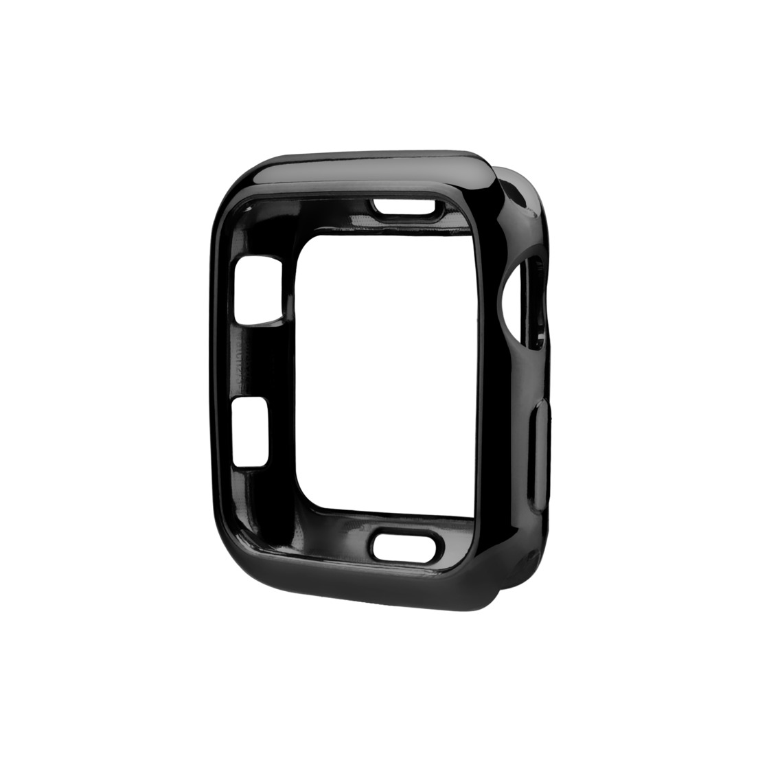 iPhone 7 Plus/7/6 Plus/6/5/5s/5c Case - Black Apple Watch Case (38mm/40mm)
