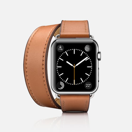 Brown - Casetify Double Tour Apple Watch Band 38mm / 42mm