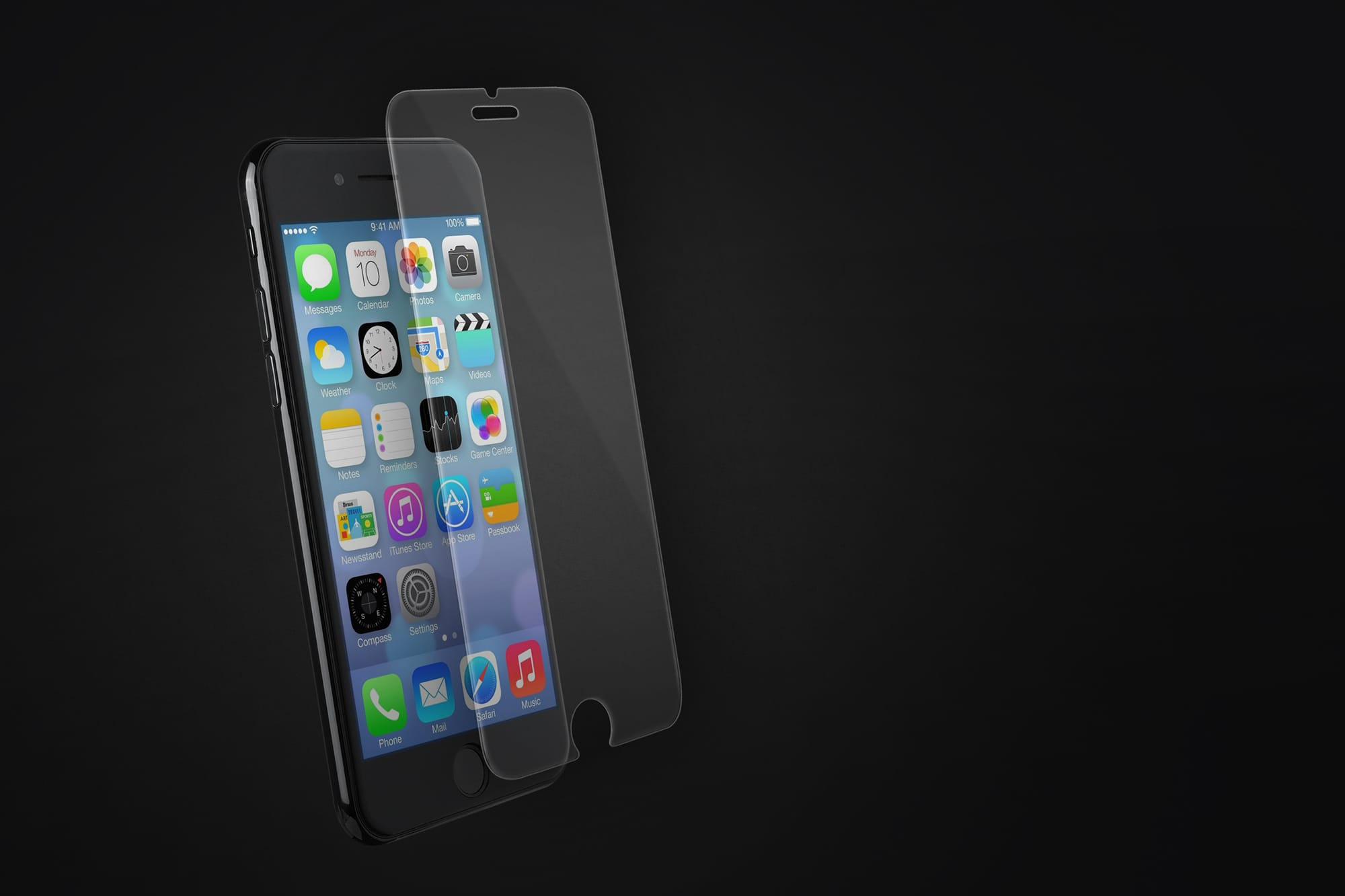 9H 2.5D Tempered Glass For iPhone 5S SE Cover Glass iPhone
