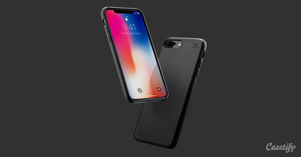 online store 2f4b0 7e9de iPhone X Essential Snap Case - Matte - CASETiFY