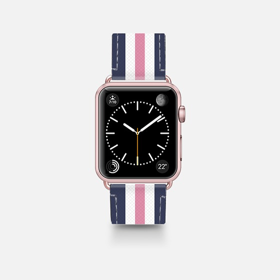 Classic Lady - Casetify Saffiano Leather Apple Watch Band 38mm / 42mm