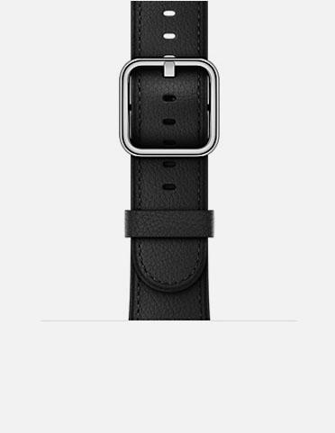 Black - Horween Leather Apple Watch Band 38mm / 42mm