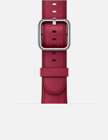 レッド - Horween Leather Apple Watch Band 38mm / 42mm