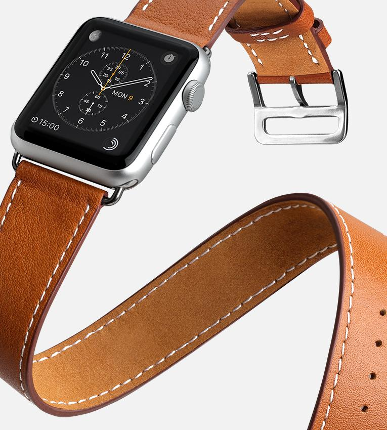 Horween Leather Apple Watch Band 38mm / 42mm