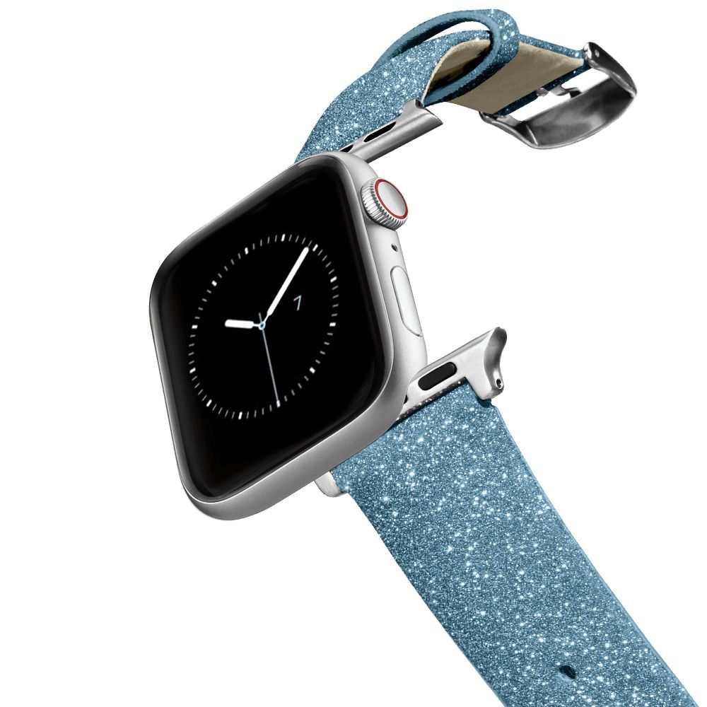 CASETiFY Apple Watch Band (42mm/44mm) Glitter Watchband - Casetify Glitter Watchband 42/44mm - Blue