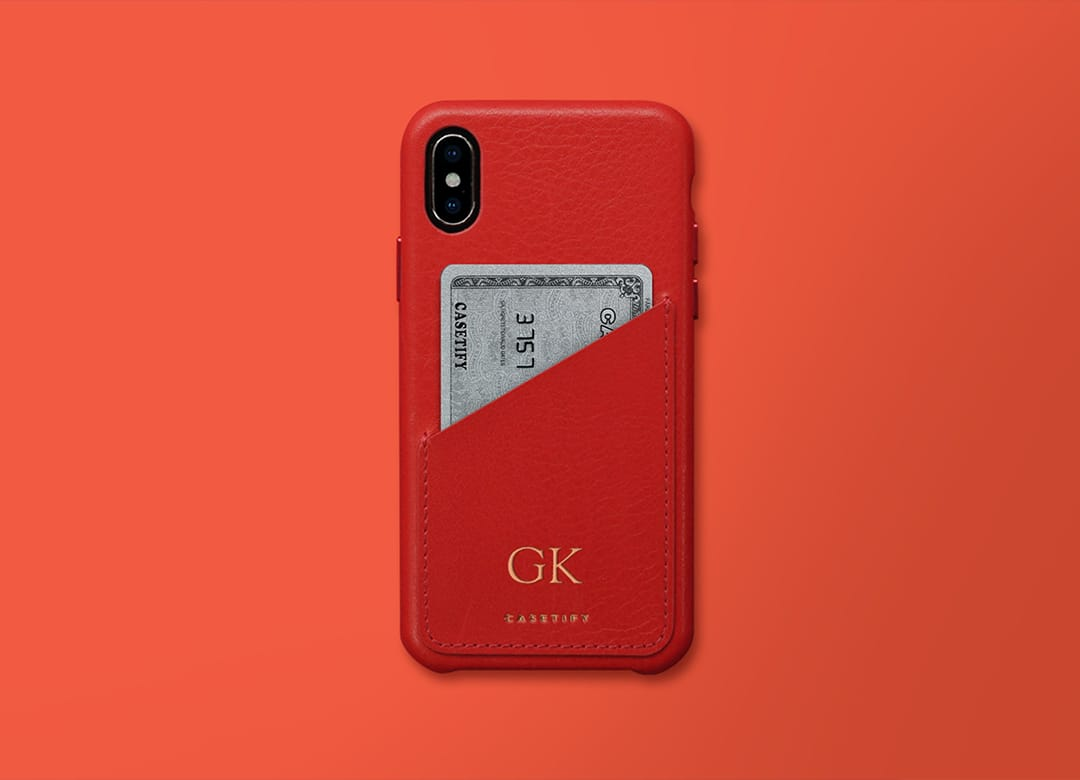 Pastel Word Collage Phone Case Insert